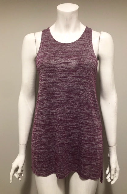 Wilfred Free Heather Purple Ornella Tank Size XS