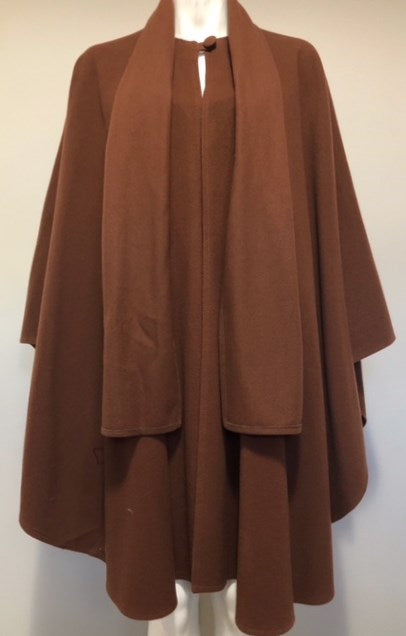 Vintage Peter James Camel Cape Jacket O/S