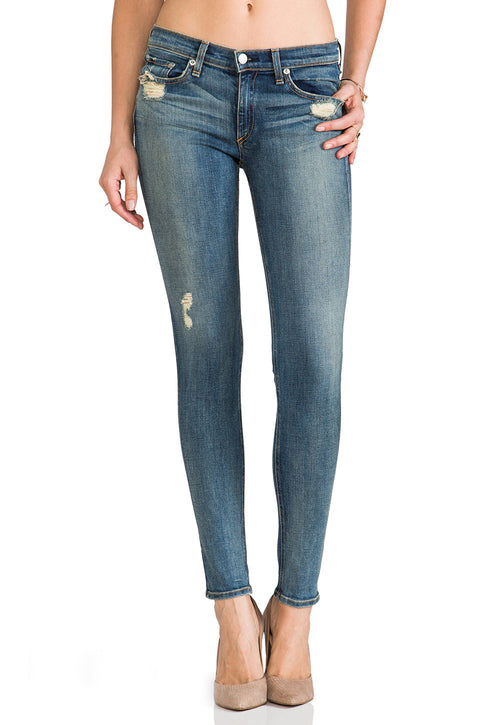 Rag & Bone Destroyed Wash Skinny Jeans Size 29