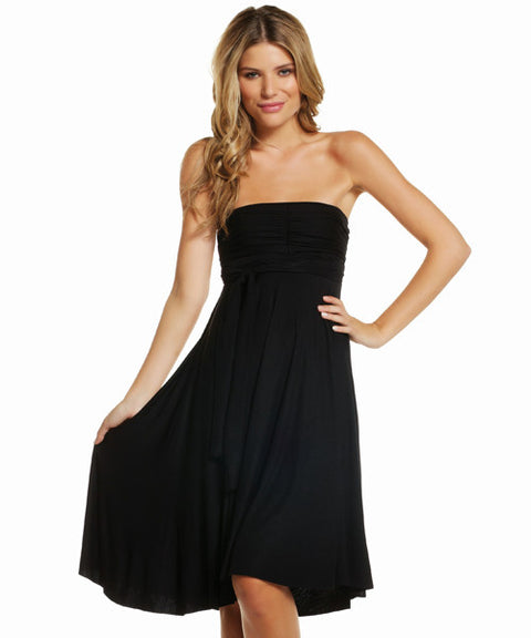 Elan Black Convertible Dress Size L