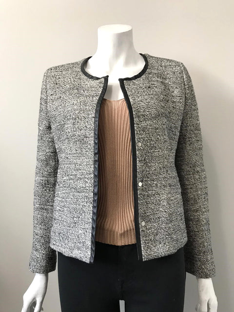IRO Grey Open Blazer Jacket Size 3 (L)