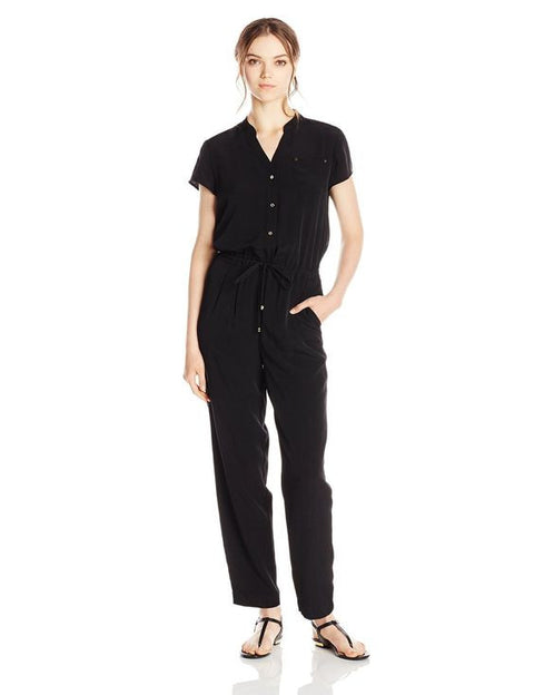 Ivanka Trump Black Jumpsuit Size 14
