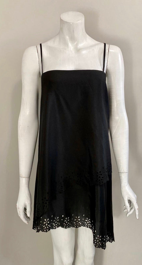 Monika K Black Slip Dress Size S