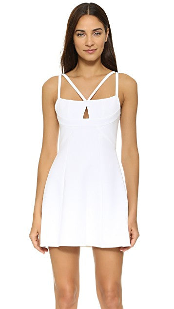 "BCBG ""Charlot"" White Key Hole Dress Size XS"