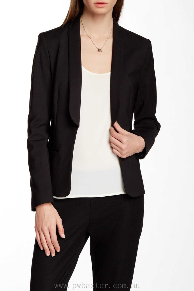 French Connection Black Open Blazer Size 6