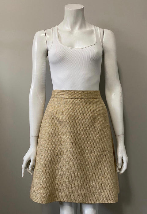 Kate Spade New York Gold Skirt Size 4