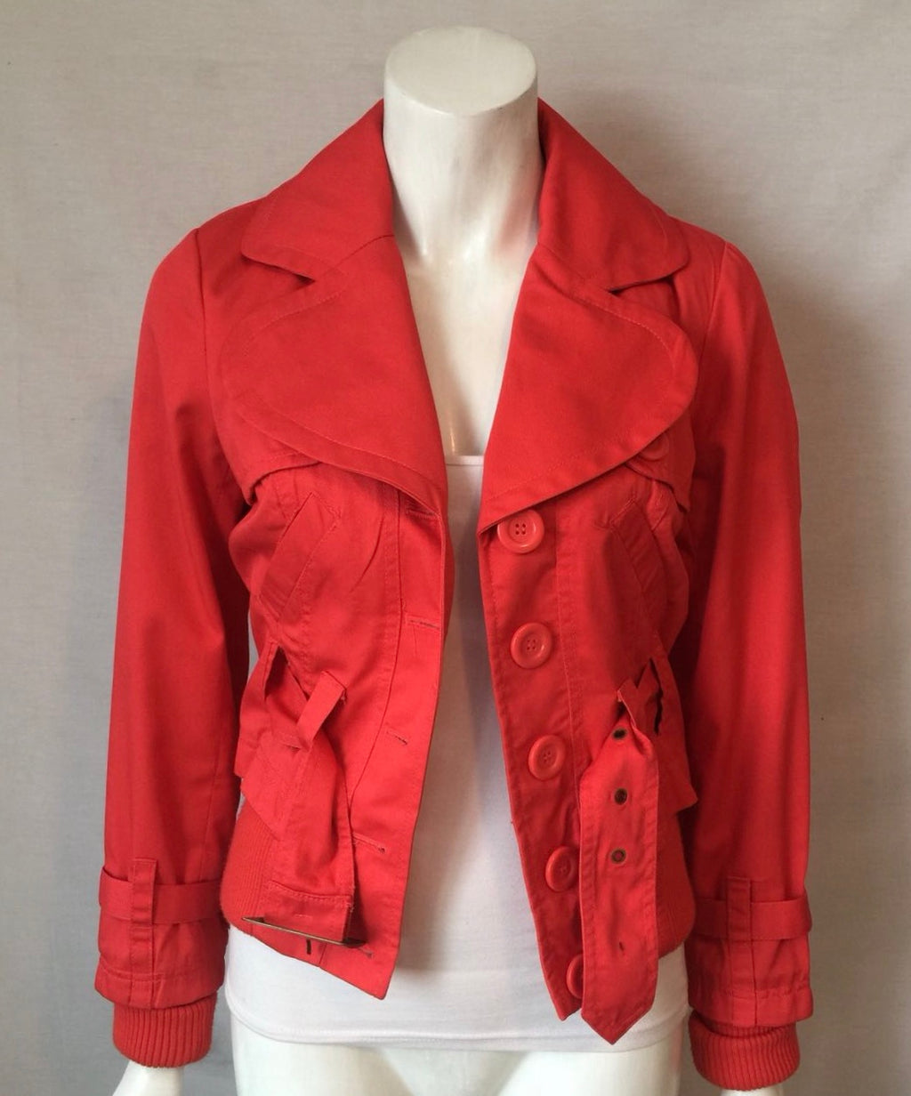 Brand New Vera Moda Red Balsa Jolly Joyce Jacket Size S