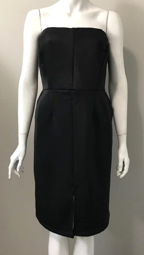 Penningtons Black Strapless Dress Size XL