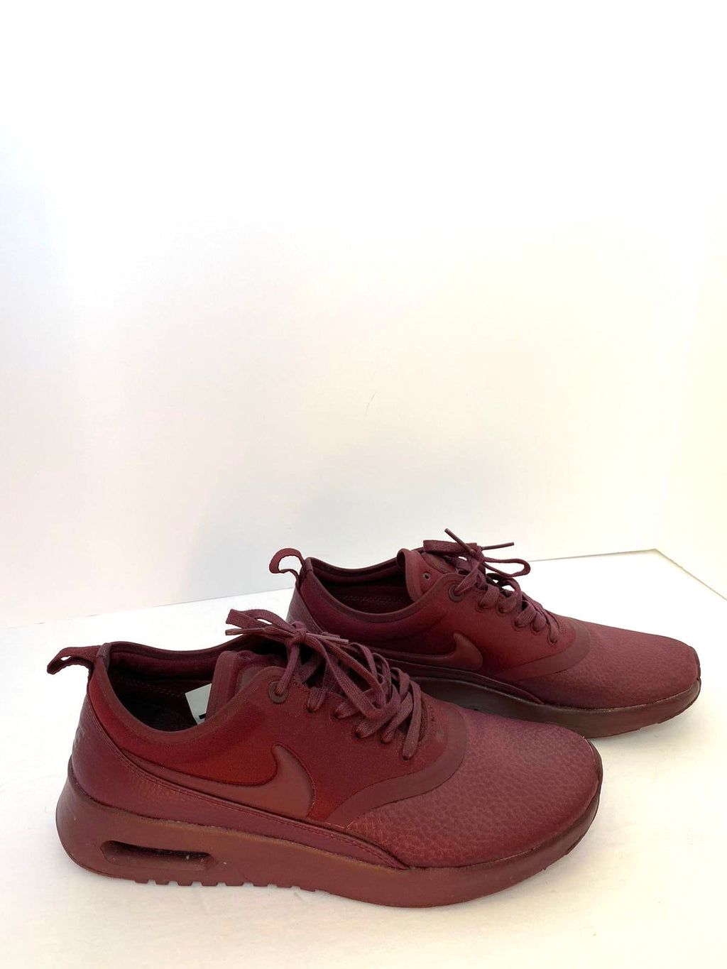 Nike Air Max Maroon Sneakers Size 8