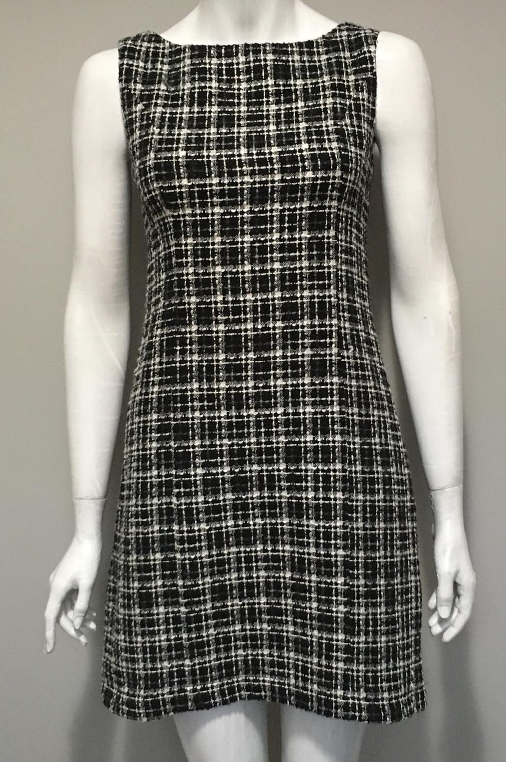 Orsay Multi-Color Sleeveless Tweed Dress Size S/M