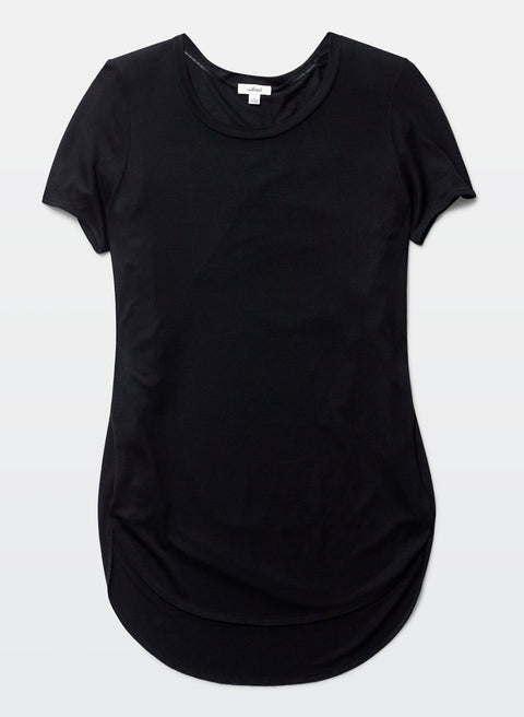 Wilfred Black Capucine Sliced T- Shirt - Joyce's Closet  - 1