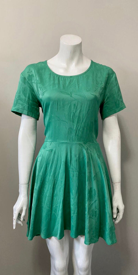 Topshop Boutique Green Dress Size 4