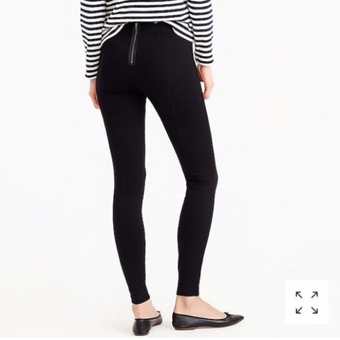 J.Crew Black Pixie Pants Size 4 R