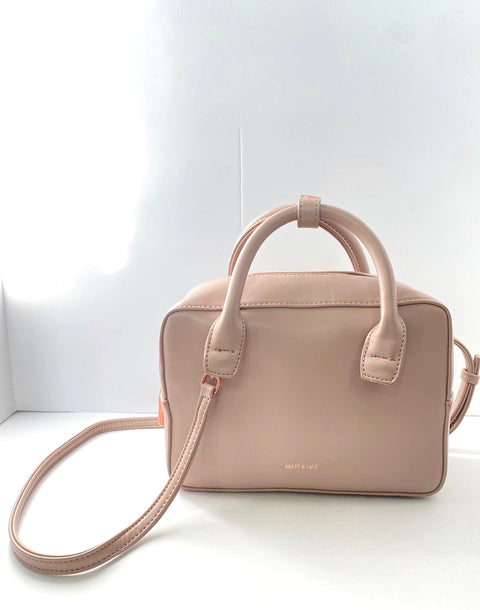 Matt & Nat Taupe Small Tote Bag