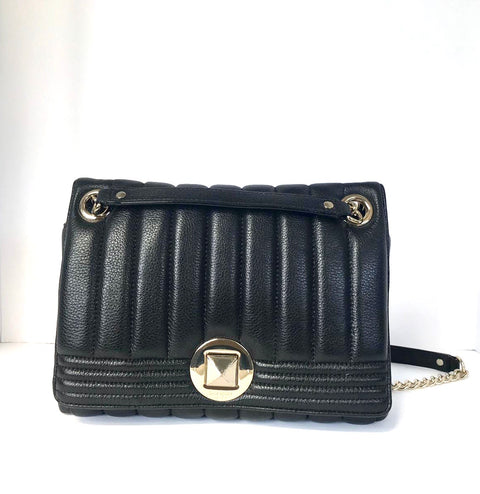 Kate Spade Black Quilted Leather Bag