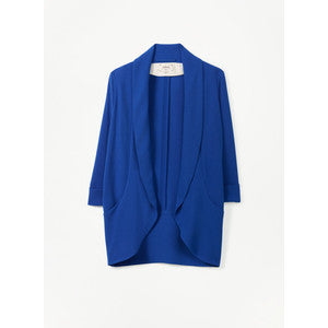 Wilfred Blue Chevalier Open Jacket Blazer - Joyce's Closet  - 1