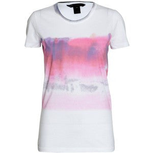 Marc by Marc Jacob Crew Neck Water Color Tie Dye T- Shirt - Joyce's Closet  - 1