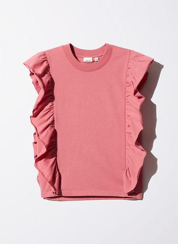 Wilfred Peach Pink Agathe T Shirt Size S