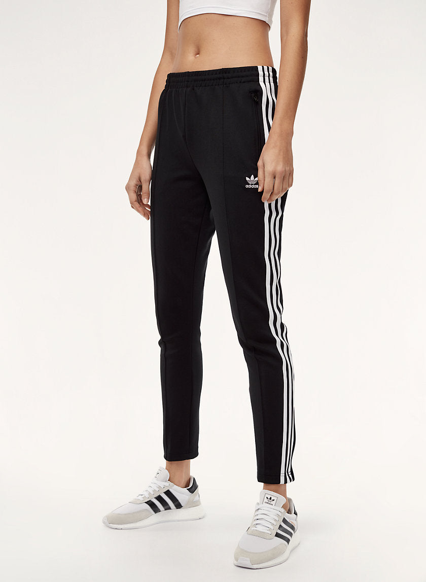a32eeb684aa Adidas 3 Stripe Superstar Black Track Pants Size XS – Joyce s Closet