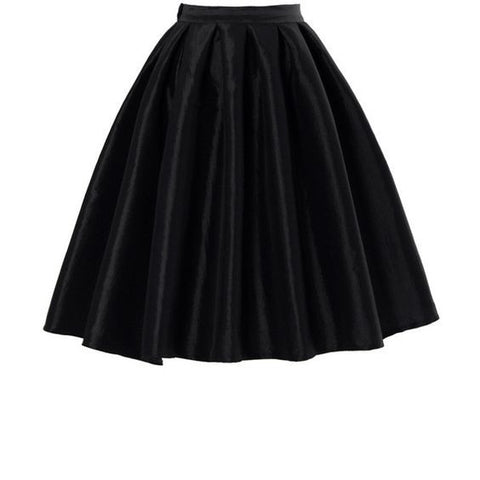 Honey Mi Honey Black Metallic Midi Bubble Skirt Size 4
