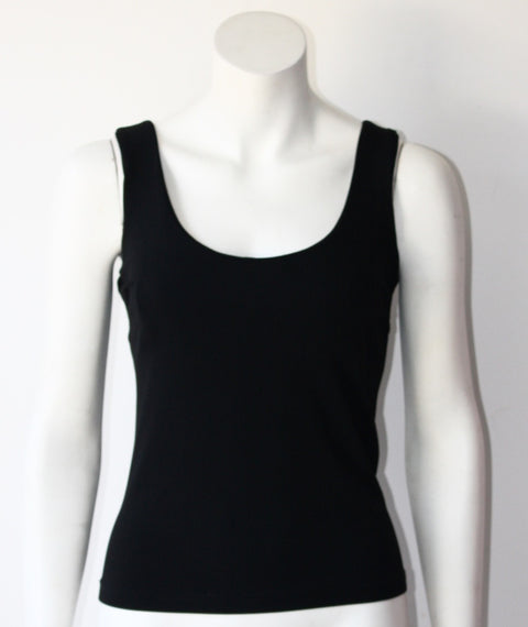 Burberry London Black Tank Top - Joyce's Closet  - 1