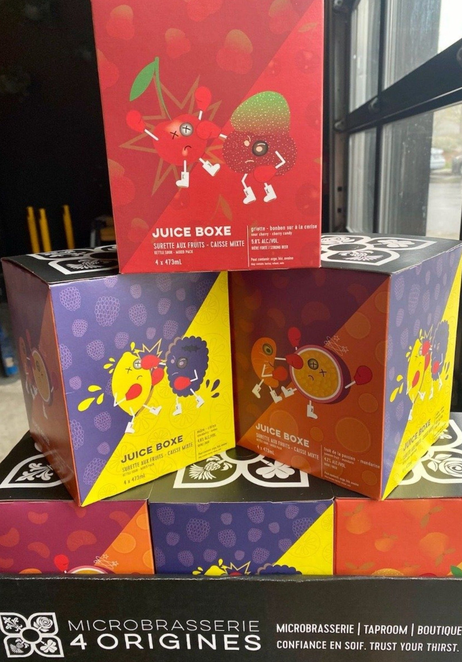 Juice Boxe | Mixed 4 Pack