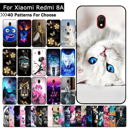 B For Xiaomi Redmi 8A Case Cartoon Animal Fashion Protective cover Luxury TPU Slicone cases mobile phone shells fundas coque