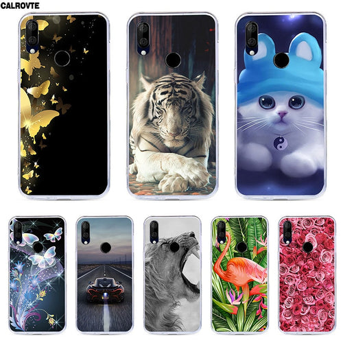 CALROVTE Case For BQ 6040L Wolf Silicon TPU Cover for BQ-6040L Magic Cat Animal Shell Bag Housing Phone Cases for BQ 6040 L