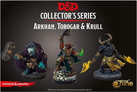 D&D Collectors Series Arkhan The Cruel And The Dark Order