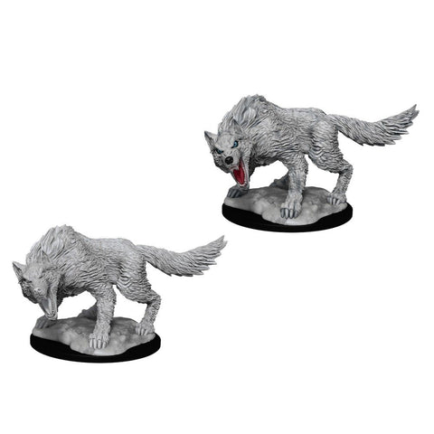Dungeons and Dragons Winter Wolf Unpainted