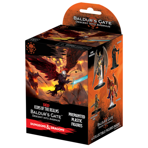 Dungeons and Dragons Icons of the Realms Baldurs Gate Descent into Avernus Booster Brick