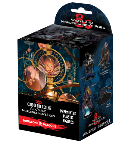 Dungeons and Dragons Icons of the Realms Volo & Mordenkainens Foes Booster Brick