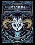 Icewind Dale Rime Of The Frostmaiden Alternate Cover