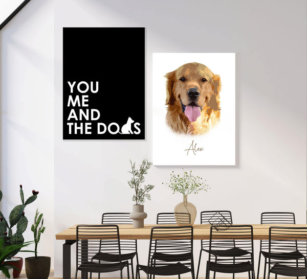 You, Me & The Dogs - Black - Dali Pups