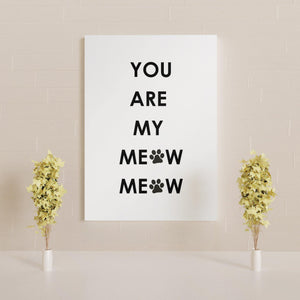 You are my meow meow (white) - Dali Pups