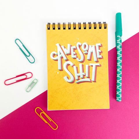 Awesome Shit Notebook
