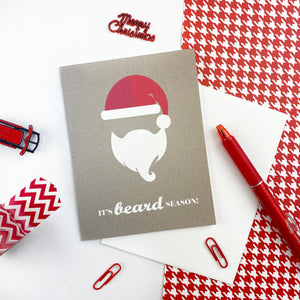 It's Beard Season Christmas Card