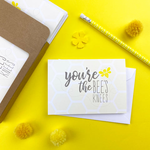 Bees Knees Note Cards