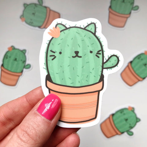 Catcus Vinyl Sticker