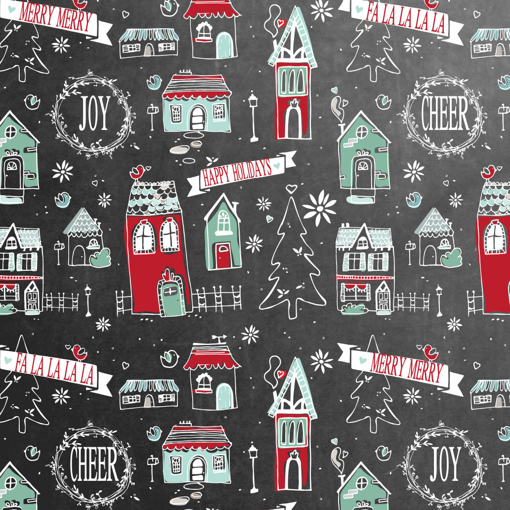 Home for the Holidays Wrapping Paper