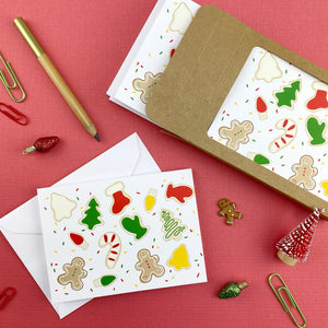 Christmas Cookie Note Cards