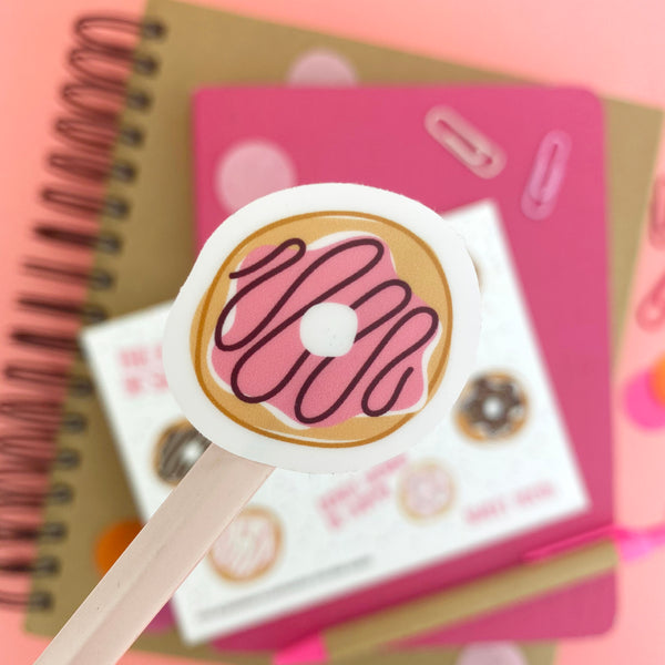 Sweet Tooth Donut Vinyl Sticker Sheet