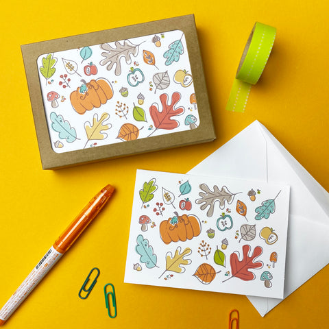 Fall Note Cards