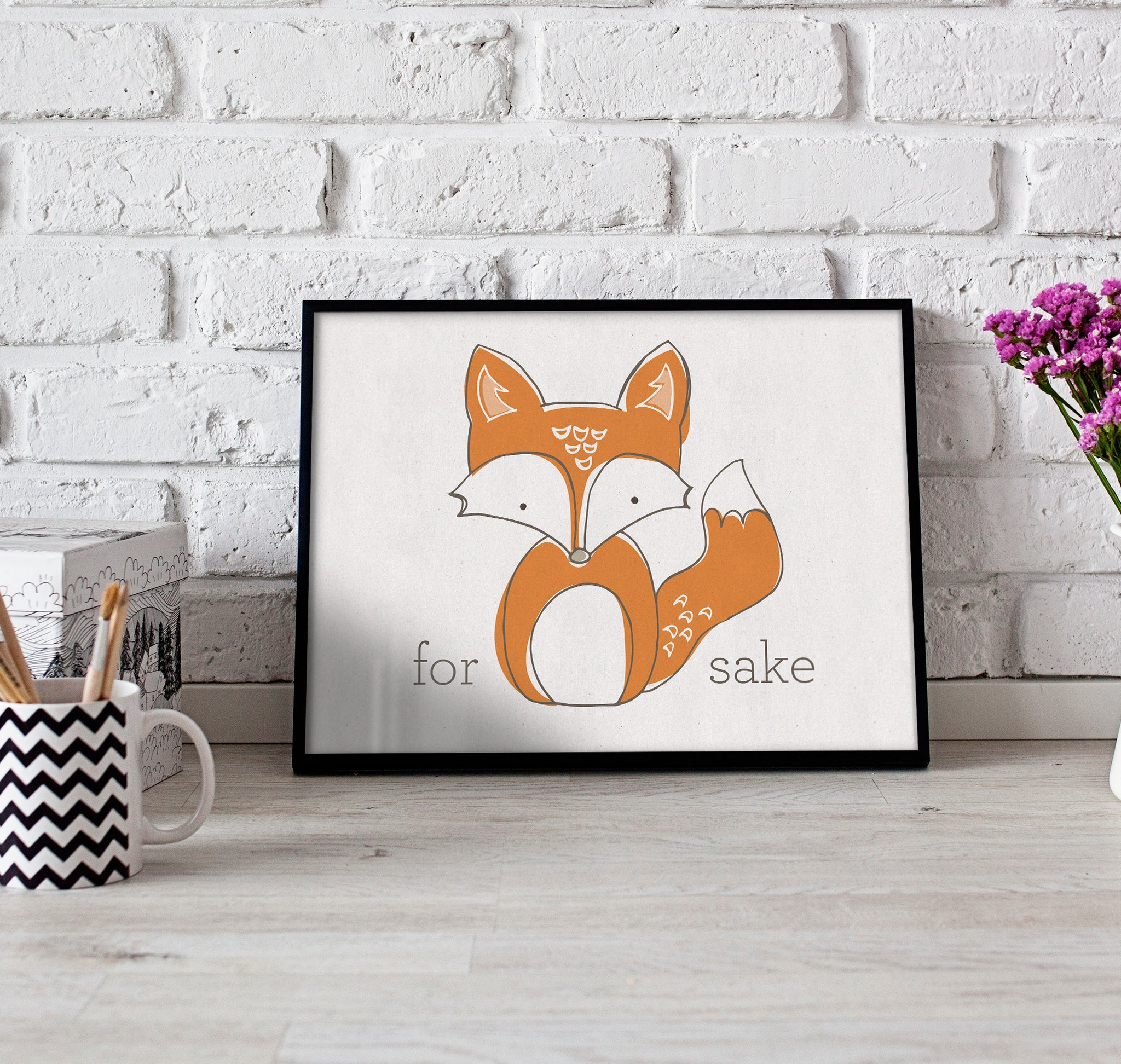 For Fox Sake Print