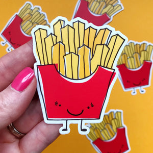 French Fries Vinyl Sticker