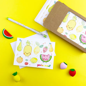 Fruity Cutie Note Cards