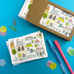 Happy Home Note Cards