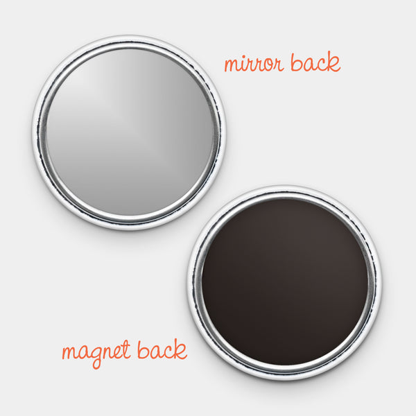 Cool Intelligent Strong Fierce Magnet or Mirror
