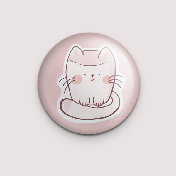 Marsh-meow-llow Magnet or Mirror