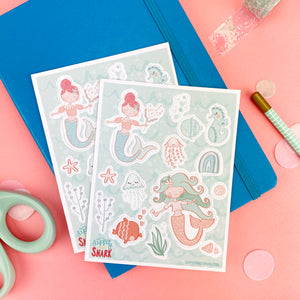 Under the Sea Sticker Sheets